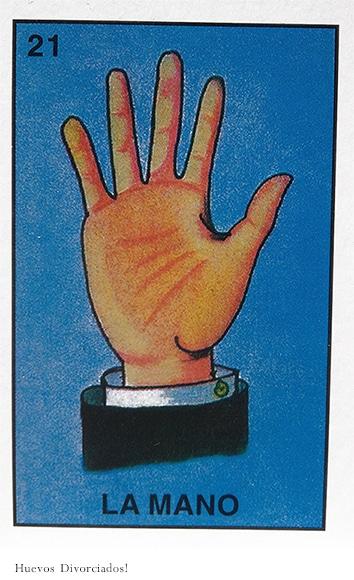 la mano half