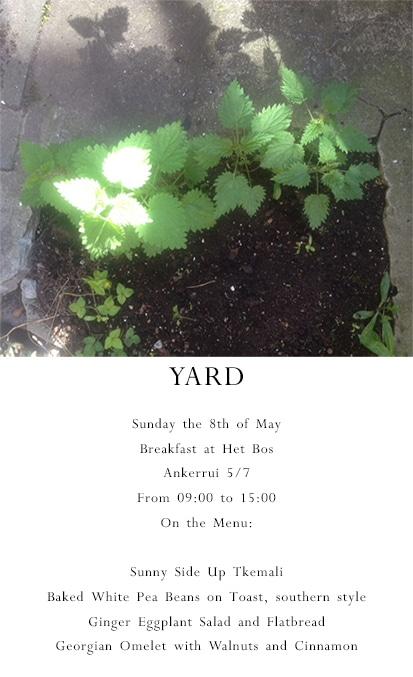 yard half
