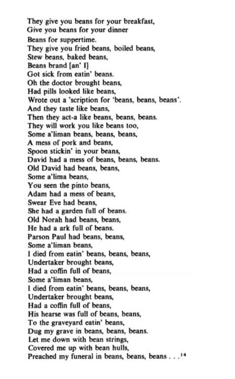 (Elmer Bowman's (1912), record by El Morrow and 'Beans' Hambone)